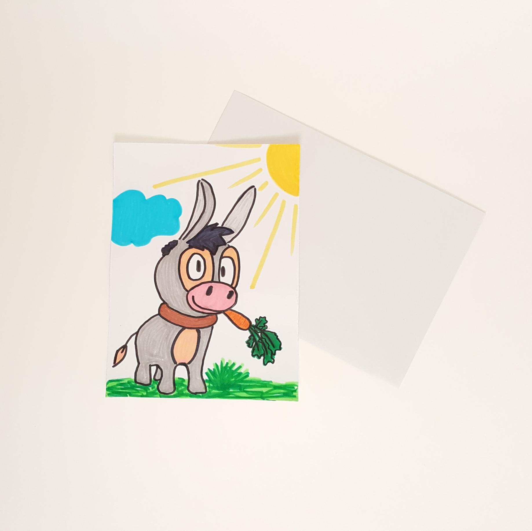 Osterei und Postkarten (8)