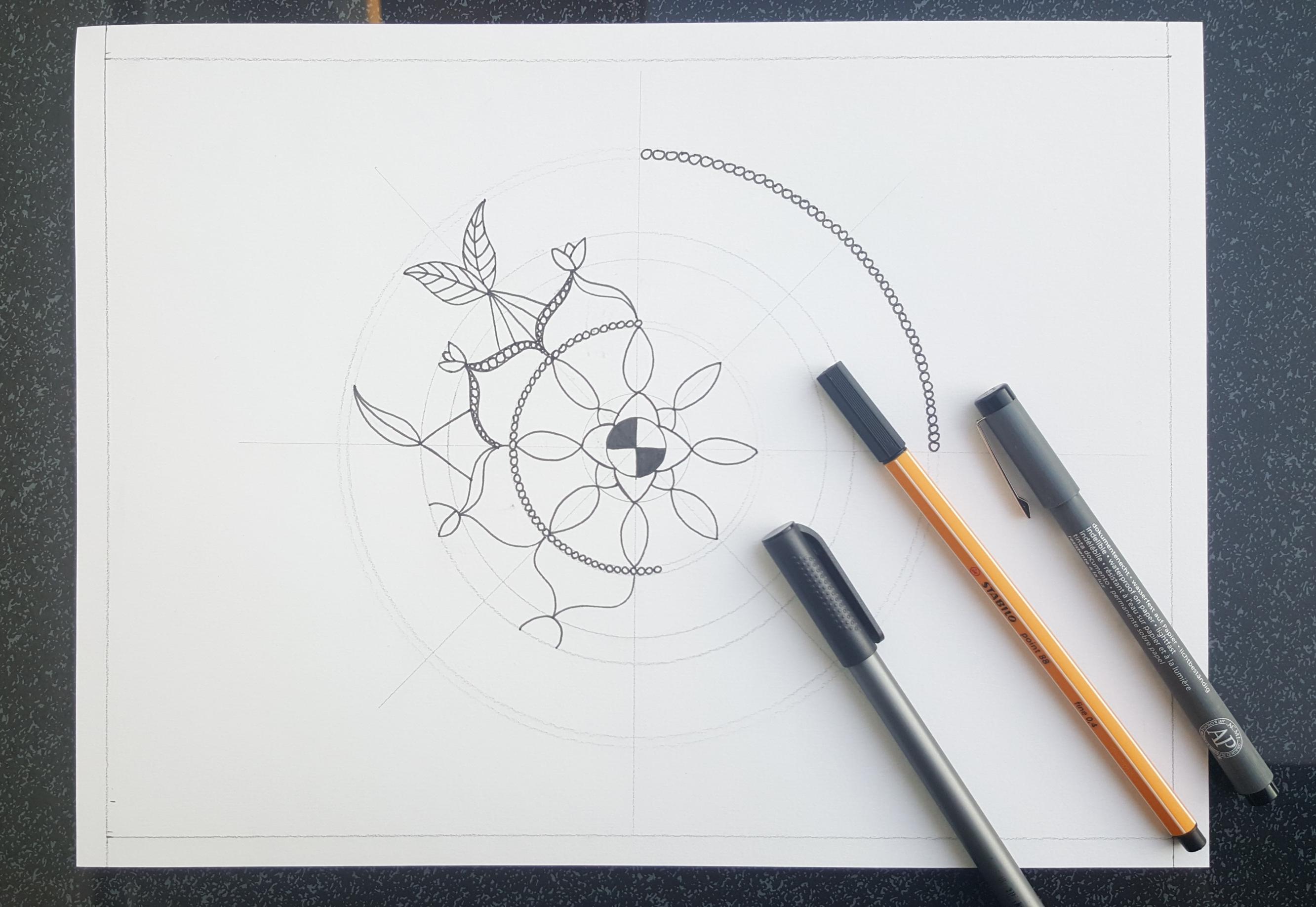 Mandala zeichnen (8)